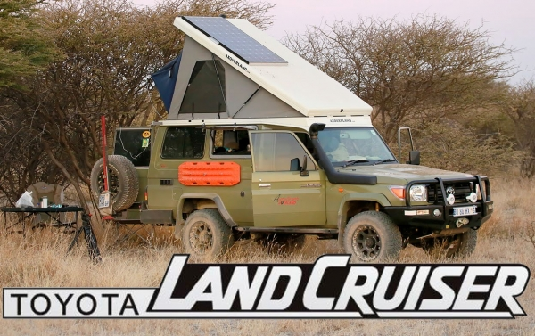 Cool Land Cruiser Video: Ultimate Toyota Camper Conversion