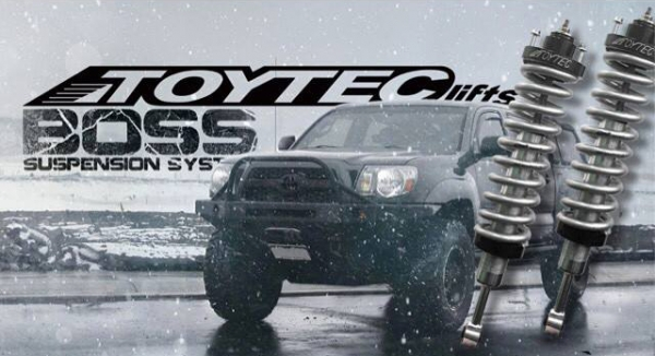 Toytec BOSS Kit for your 4Runner, FJ Cruiser, Tacoma, or Tundra
