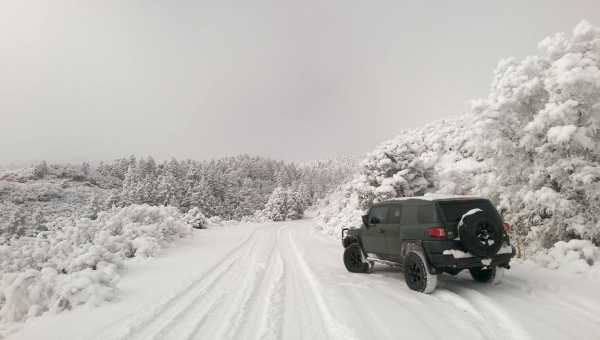 THIS is how you #winterwheel with your Toyota 4x4!